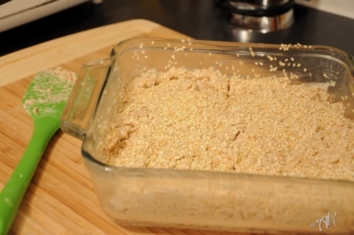 Remove the bread from the baking dish and let cool on a rack.