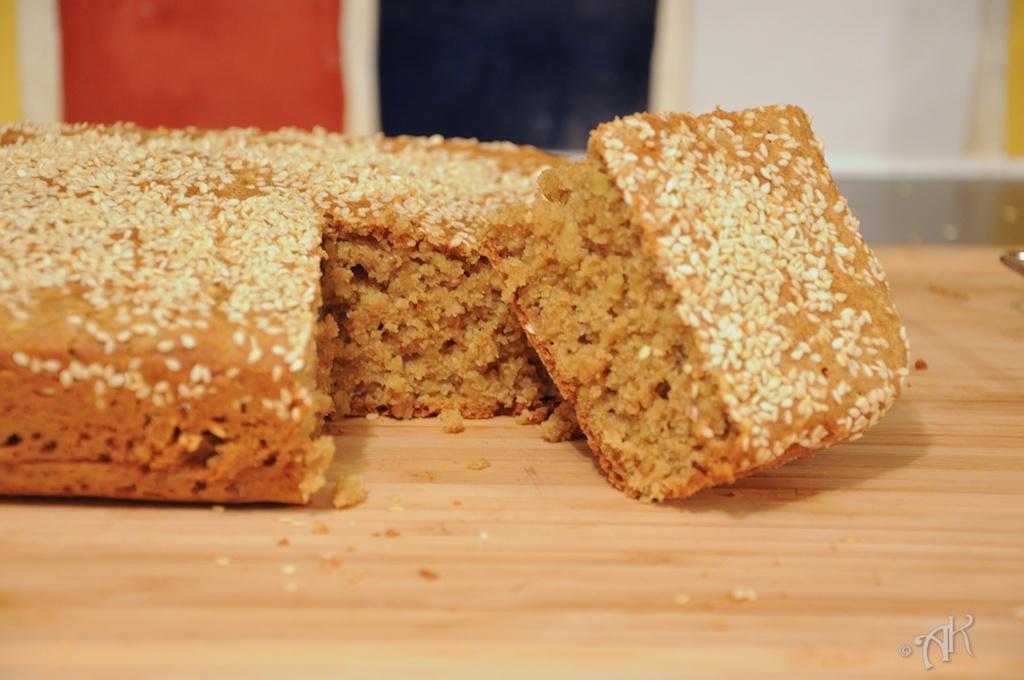 Spelt and Oat Soda Bread | Lemon Savory