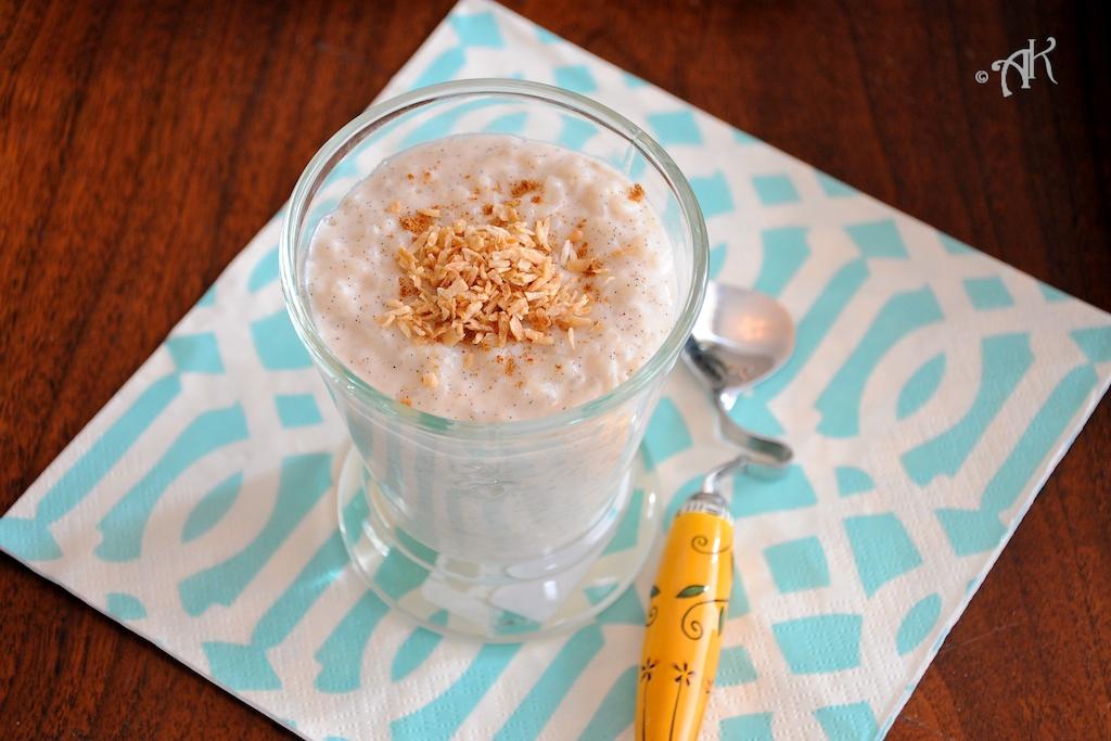 Coconut Rice Pudding | Lemon Savory